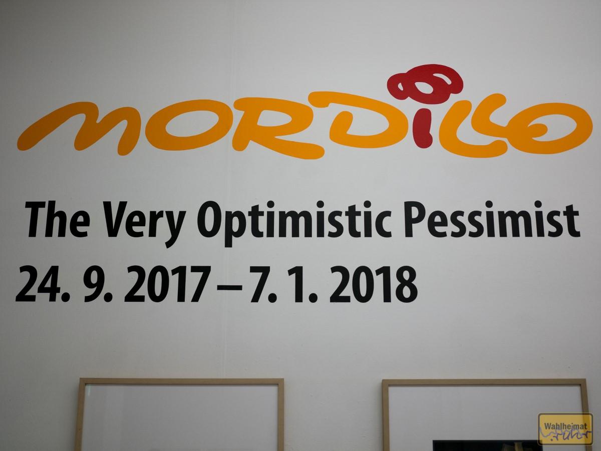 Bis 7. Januar 2018 noch zu sehen: Mordillo.