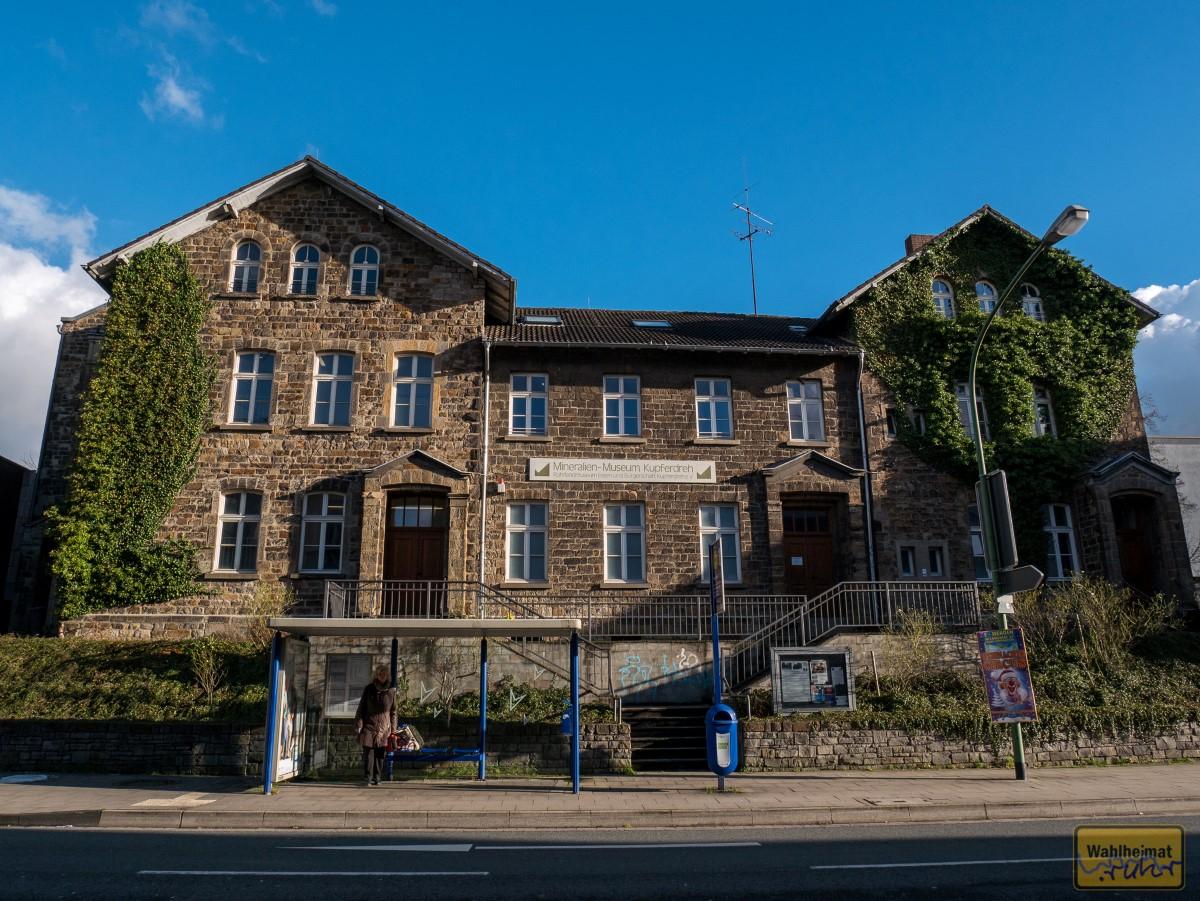 Ein Schmuckstück in Naturstein: das Mineralien-Museum Kupferdreh.