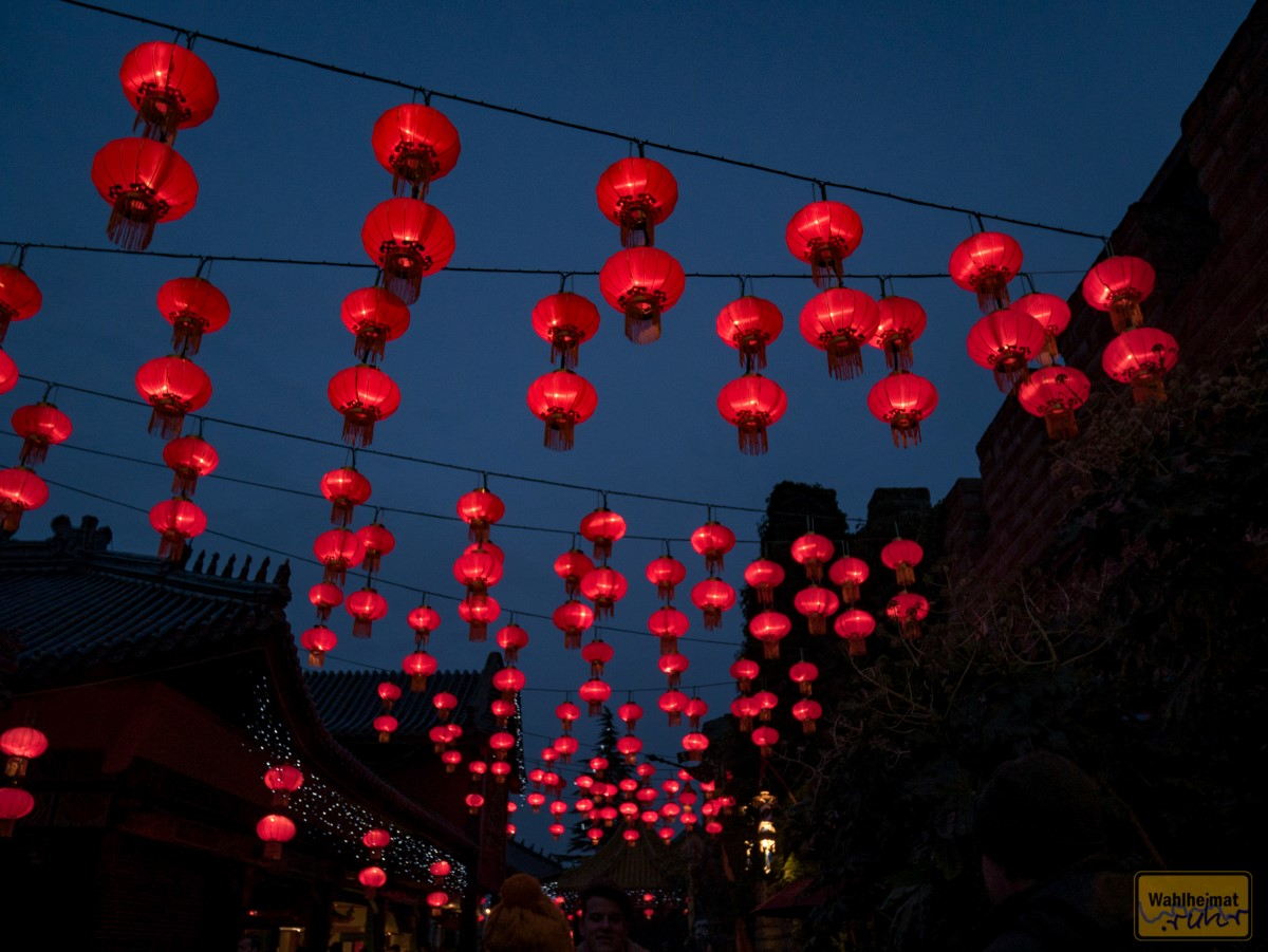 Diese roten Laternen habe ich sicher hundertfach fotografiert... :D
