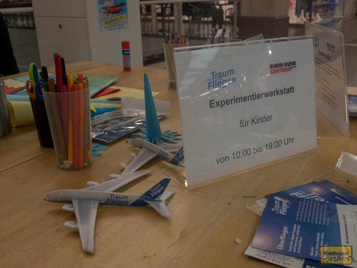 Für die Kids: Experimentierwerkstatt zum Mitmachen.