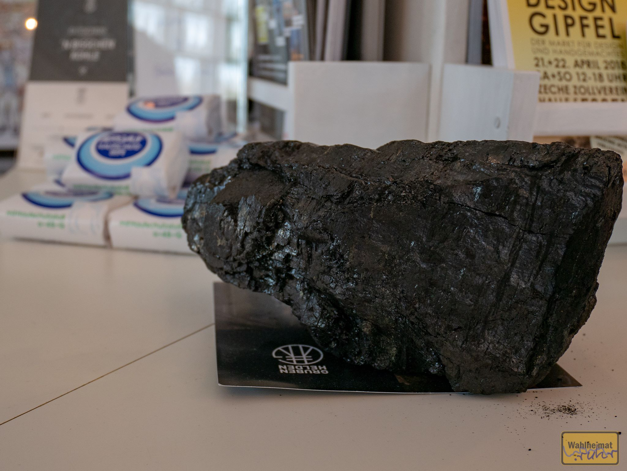 Das ist mal ein ordentliches Stück Kohle.