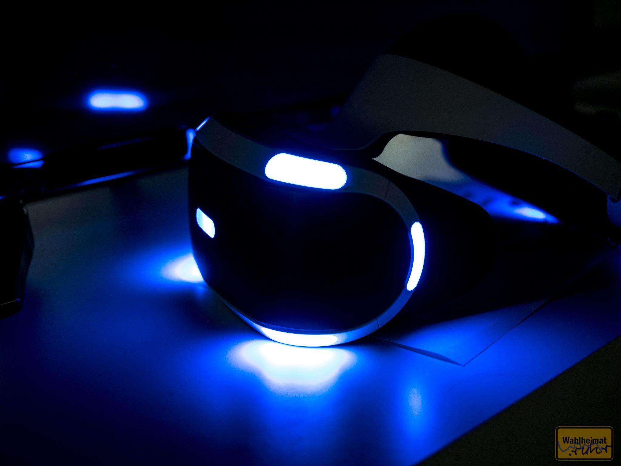 ...oder mit dem Monitor direkt vor Augen in virtuellen Welten. Klasse Vielfalt!