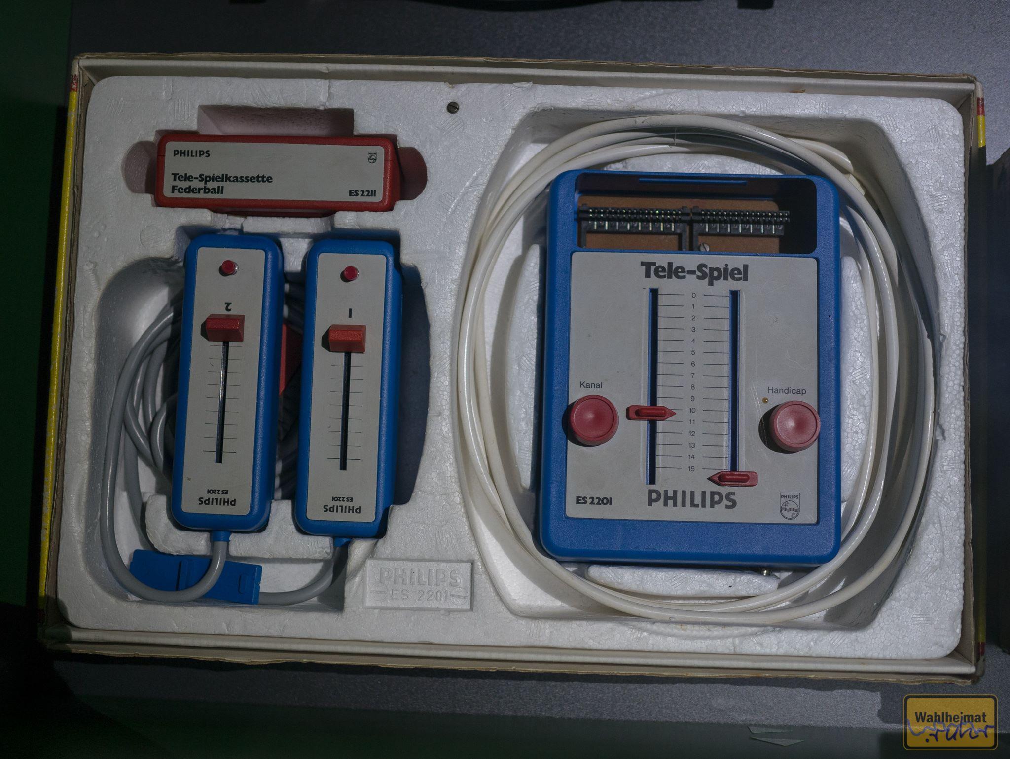Philips Tele-Spiel. Ganz schön retro!