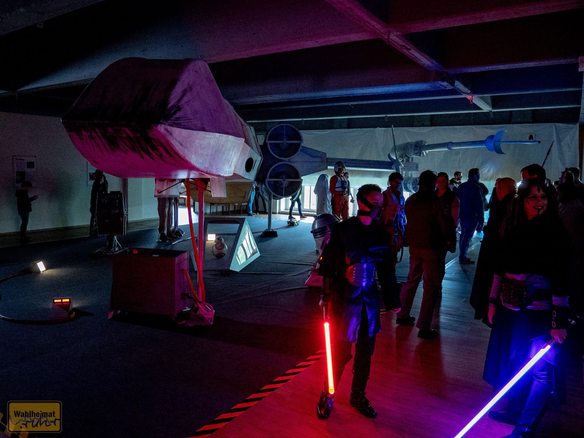 Star-Wars-Fans in Montur. Klasse!