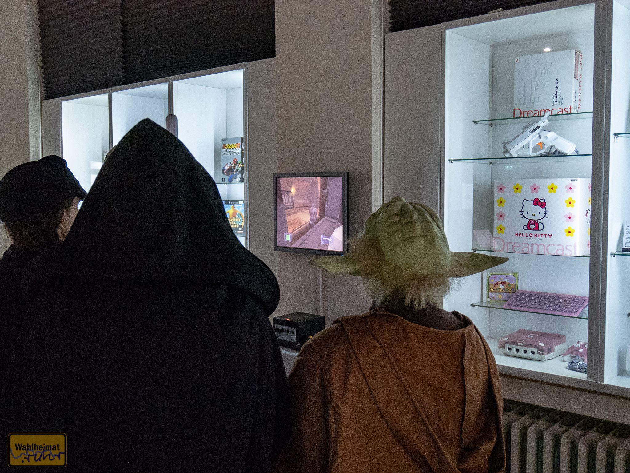 Wenn im Binarium Dortmund du bist, Spielekonsolen ausprobieren du musst!