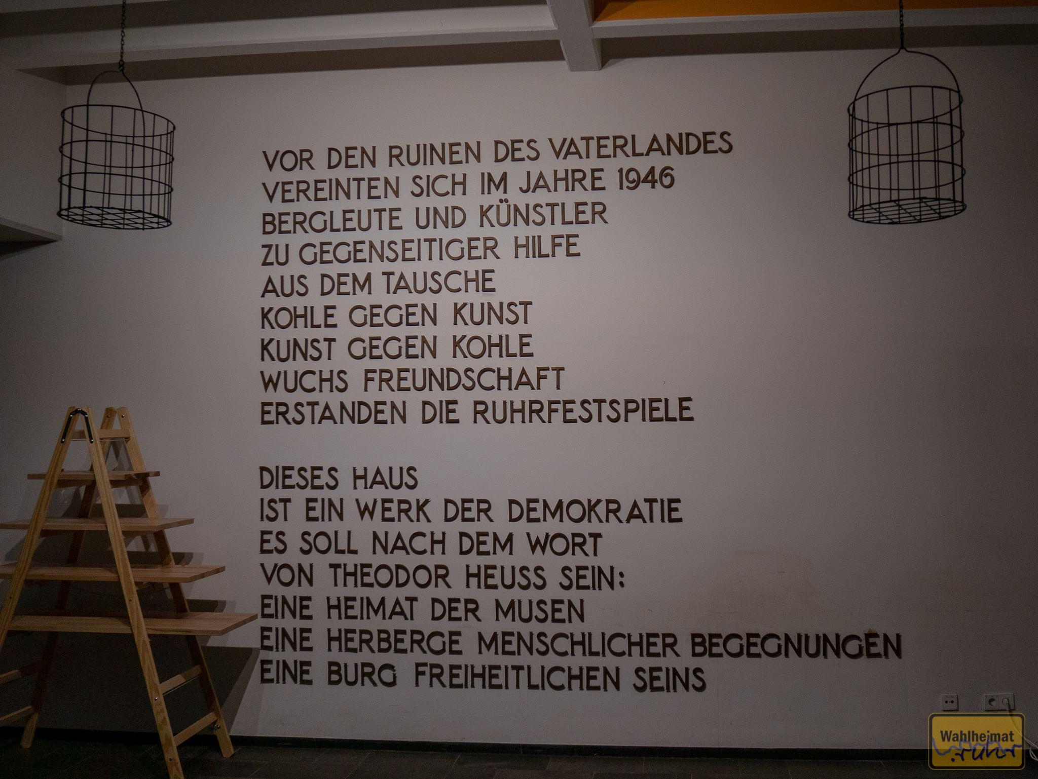 Die Geschichte der Ruhrfestspiele.