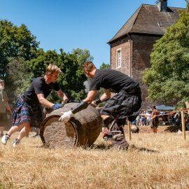 1. Highland Games auf Burg Vondern Oberhausen