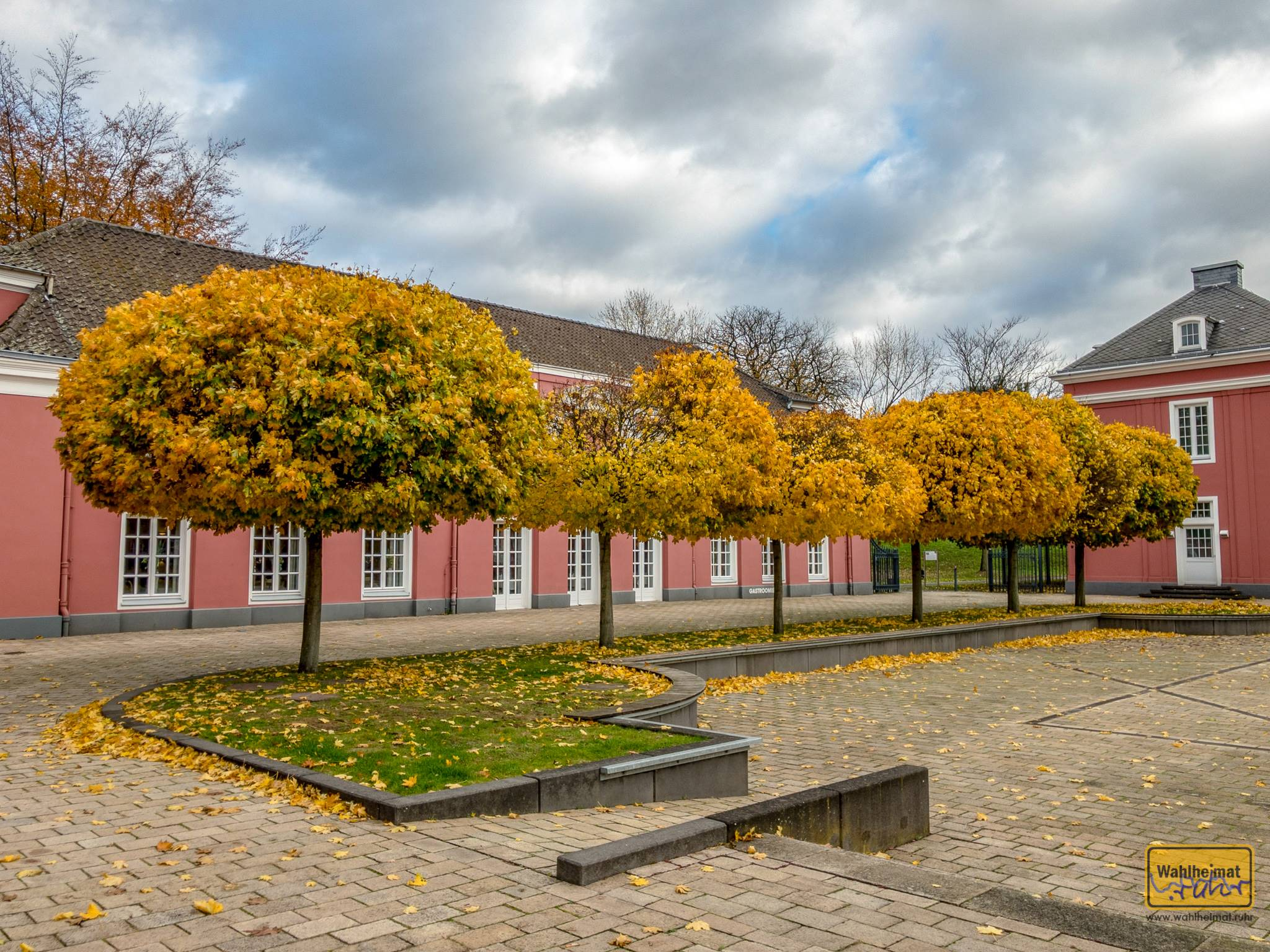 Wunderbare Kunst aus der Feder der Natur findet sich auch schon vor der Tür der Ludwig-Galerie.