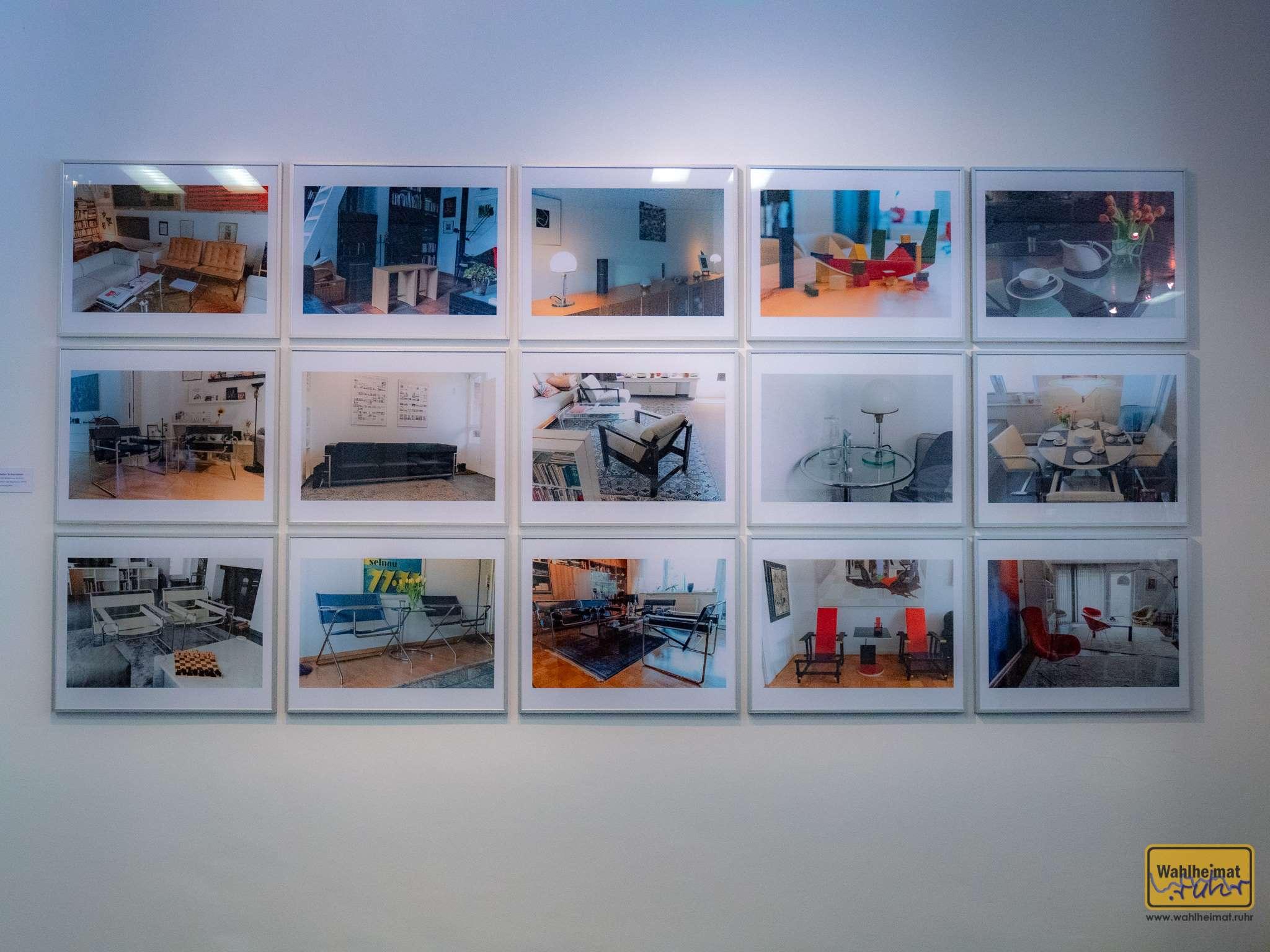 Der Stadtfotograf Walter Schernstein ging zu den Leuten nach Hause und fotografierte die Objekte in ihrem natürlichen Habitat.