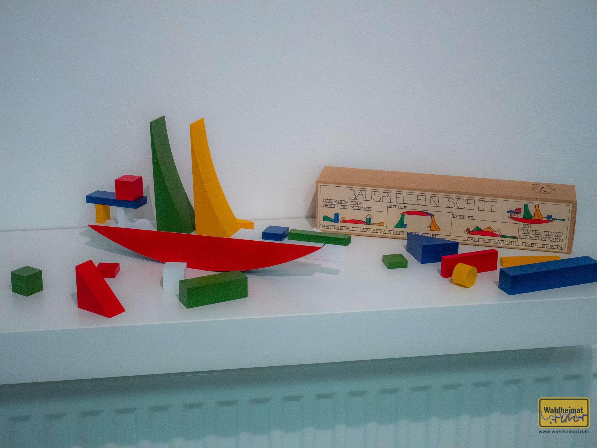Bauhaus auch im Kinderzimmer.