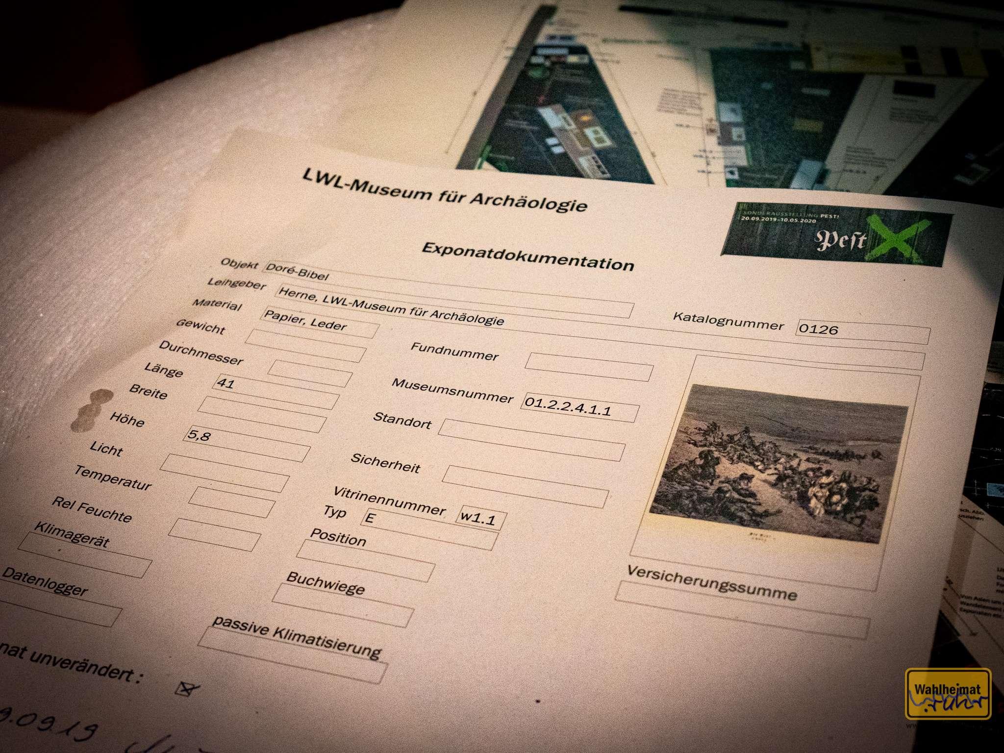Von der Wiege bis zur Bahre: Formulare, Formulare...