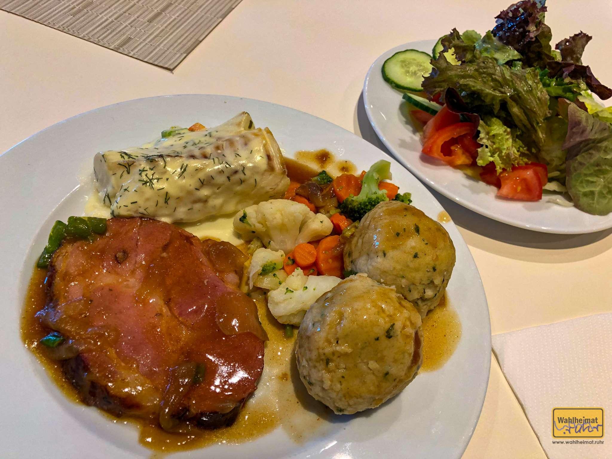 Stets gibt es mehrere Gerichte zur Auswahl.