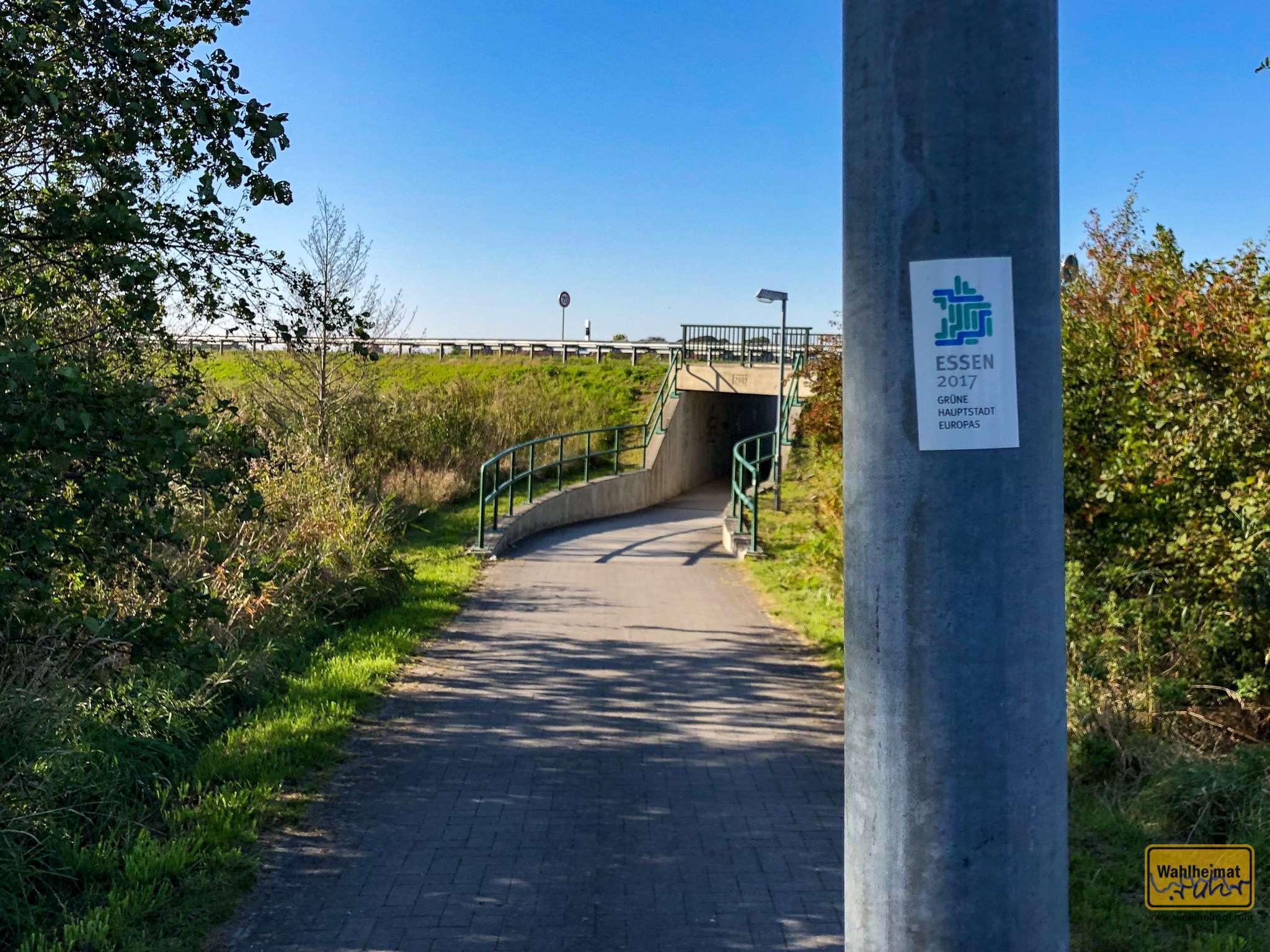 Huch: das Ruhrgebiet lässt grüssen. (Ich war das übrigens nicht!)