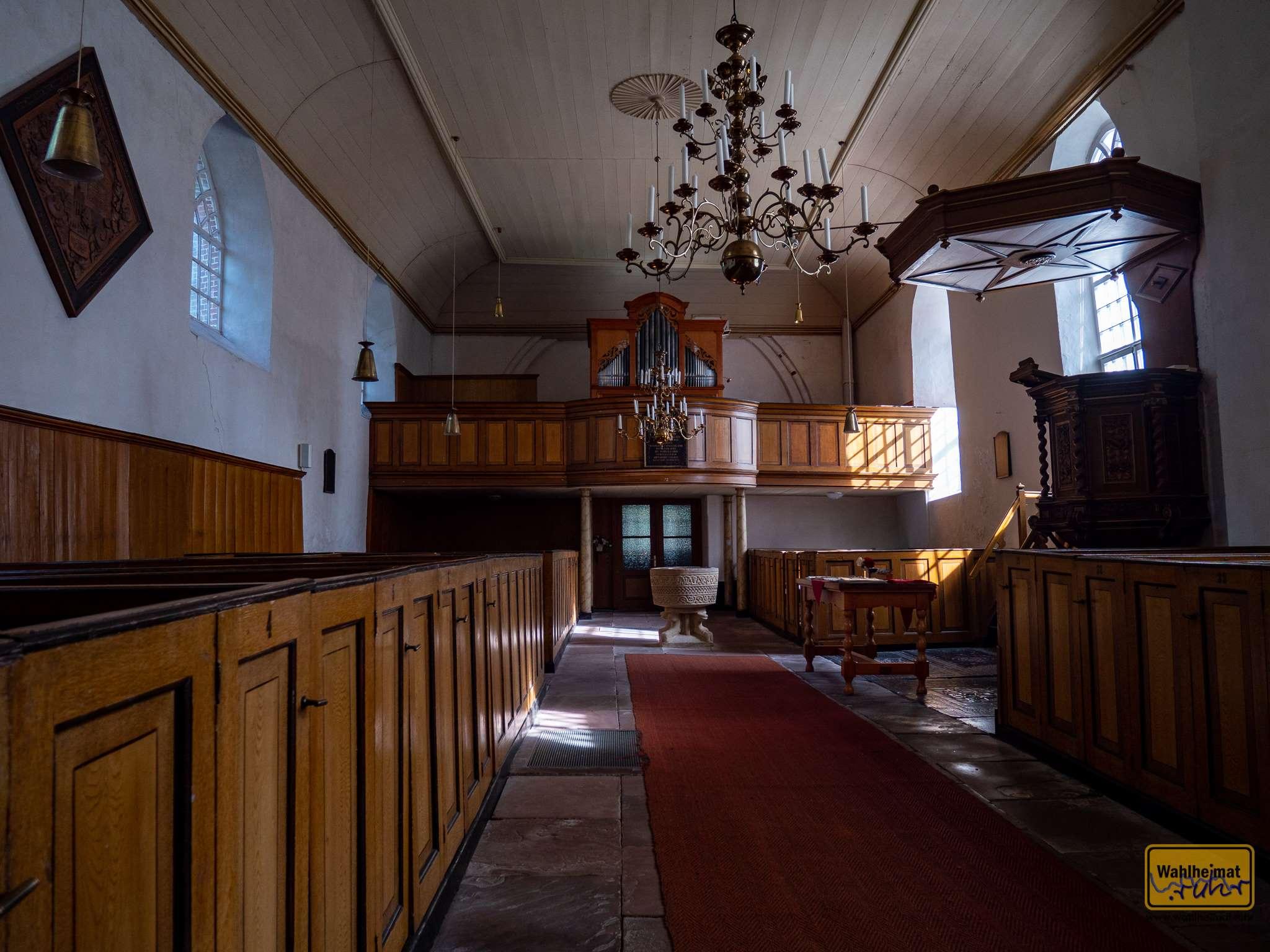 In das Innere der Kirche kommt man normalerweise nur mit Führung.