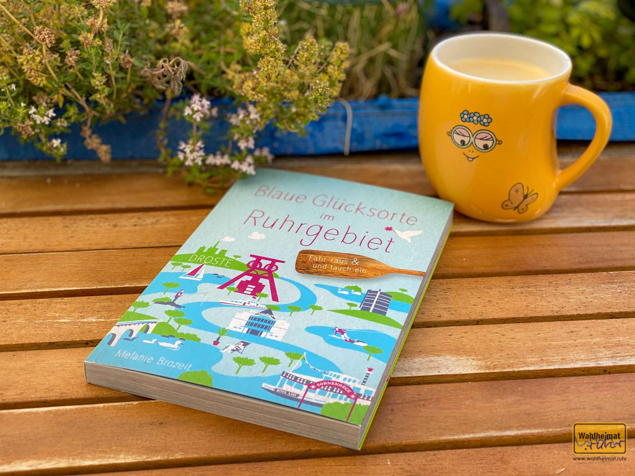 Blaue Glücksorte im Ruhrgebiet - das Buch.