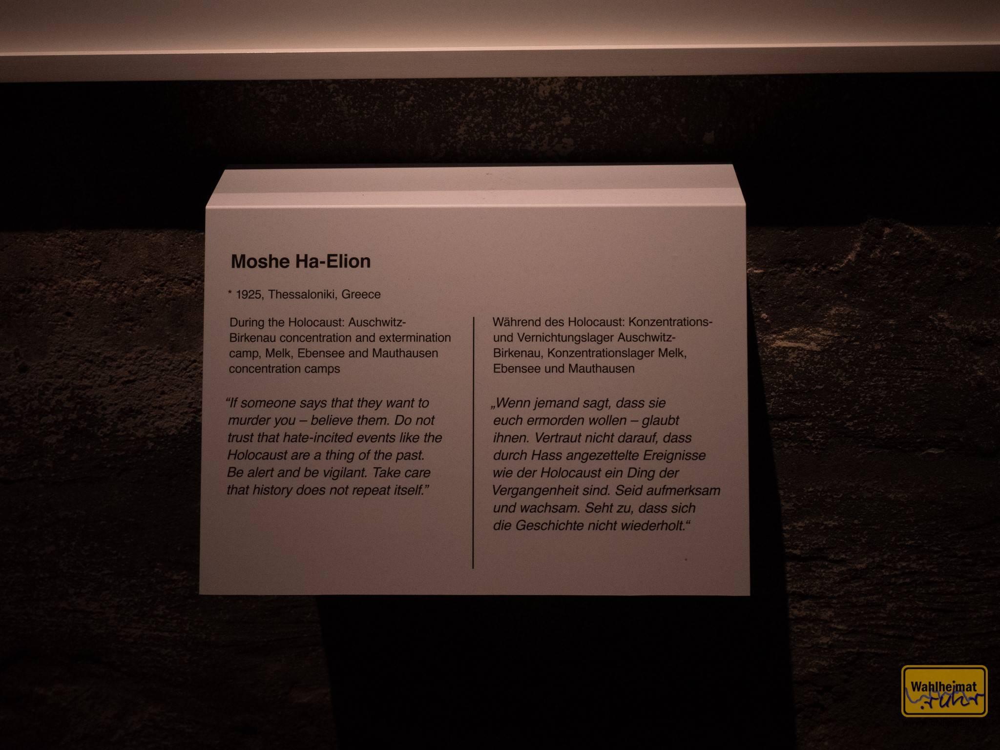 Diese Tafeln - sie erzählen von grauenvollen Odysseen, aber auch...