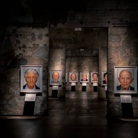 Essen, Kokerei Zollverein – SURVIVORS. Faces of Life after the Holocaust.