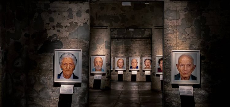 Essen, Kokerei Zollverein – SURVIVORS. Faces of Life after the Holocaust.