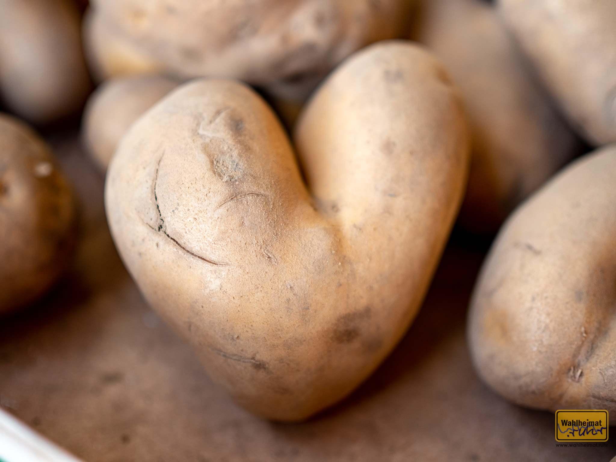 Großartig - eine Herzkartoffel zum Abschied!
