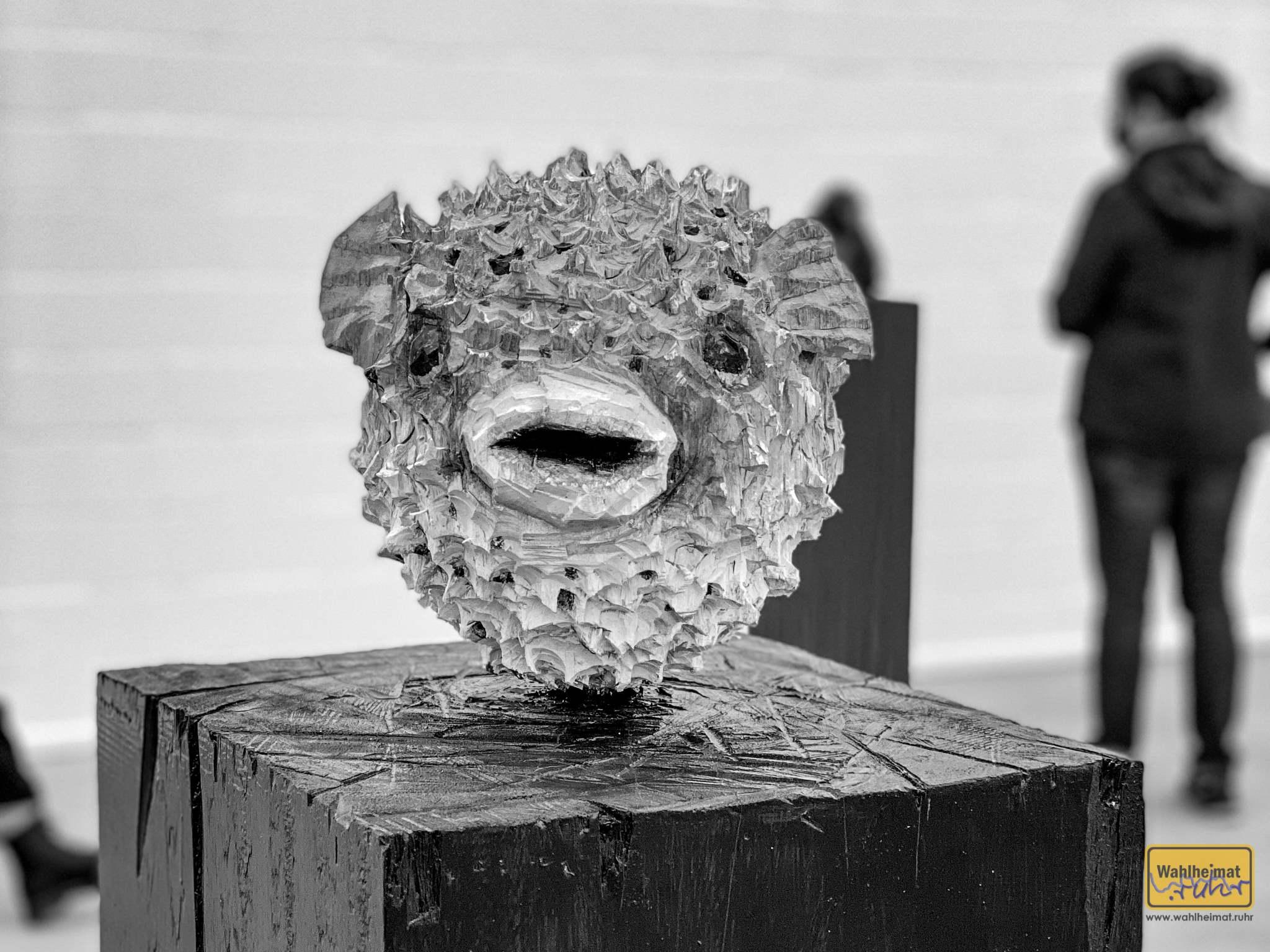 Tierfiguren sind eines der zentralen Themen Balkenhols. © VG Bild-Kunst, Bonn 2020.