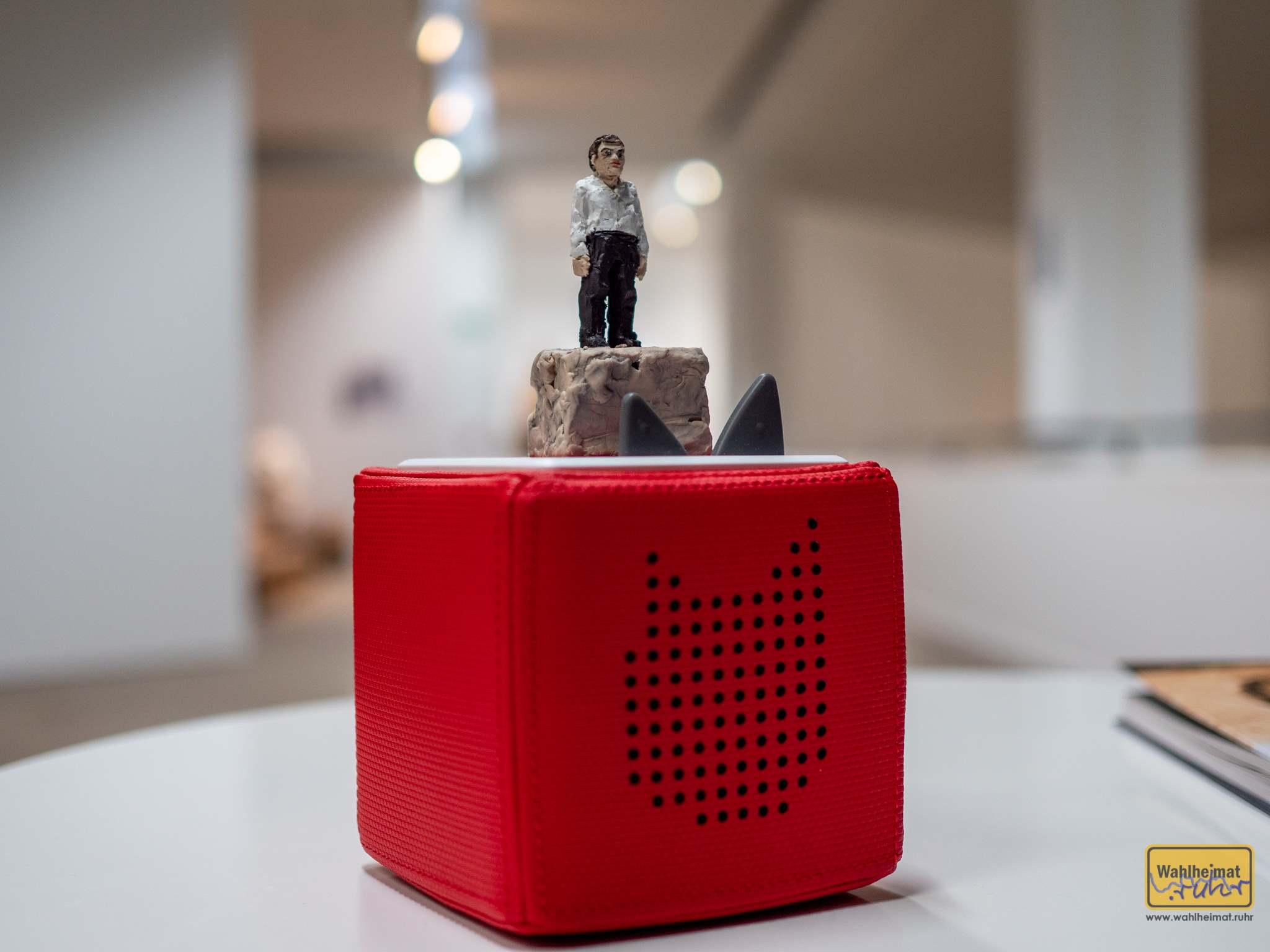 Eine Tonie-Box mit dem Konterfei des Künstlers. Sehr schöne Idee!