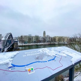 Mülheim an der Ruhr – erster Schnee 2021