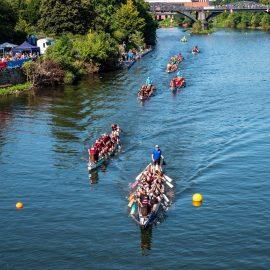 Mülheim an der Ruhr – Drachenboot-Festival 2021